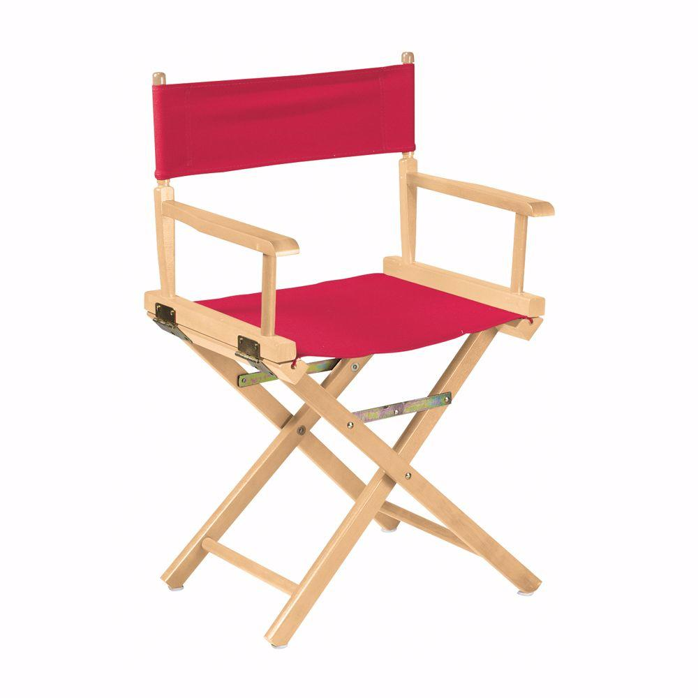 Home Decorators Collection Natural Wood Folding Director's Chair