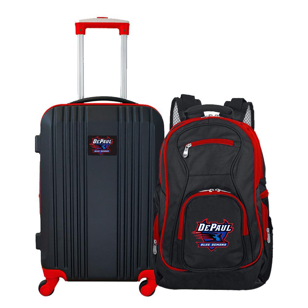 NCAA Depaul 2-Piece Set Luggage and Backpack