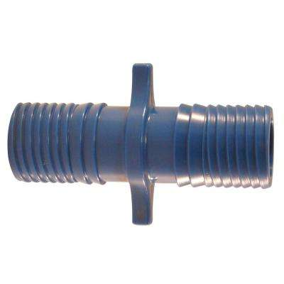 1 in. Blue Twister Polypropylene Insert Coupling