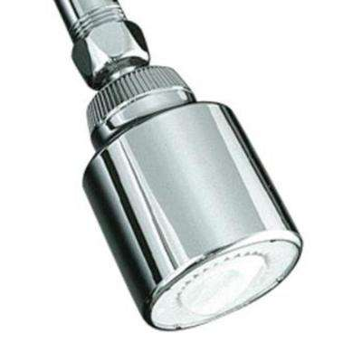 Coralais Economy Single-Function Shower Head in Polished Chrome
