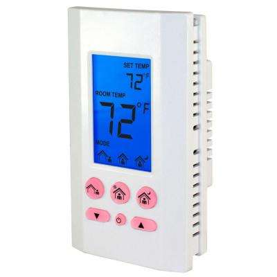 1-Day 1-Pole Battery Powered Non-Programmable Thermostat
