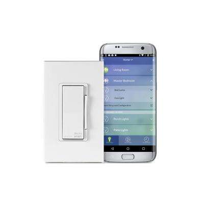 Decora Smart Wi-Fi 600W Universal LED/Incandescent Dimmer, No Hub Required, Works with Amazon Alexa and Google Assistant