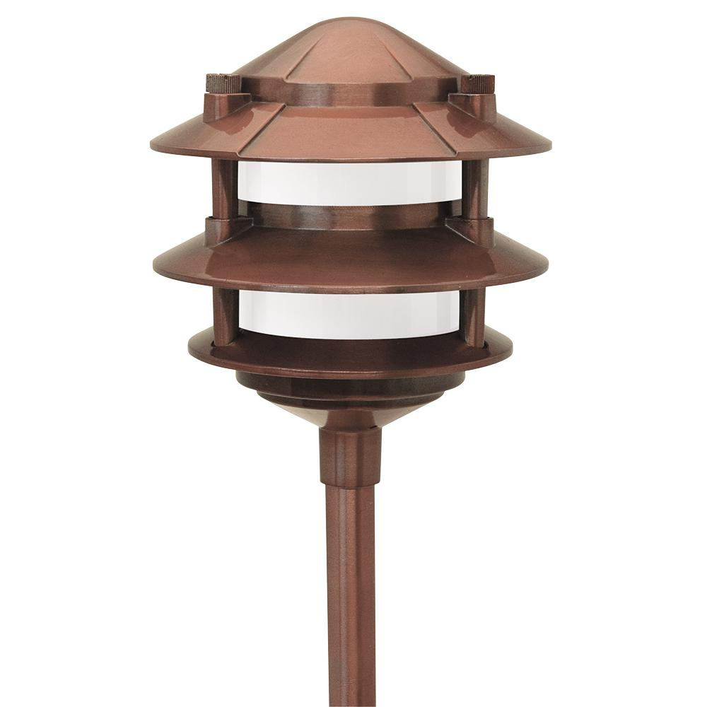 Paradise low voltage 1 light 11 watt copper outdoor landscape cast paradise low voltage 1 light 11 watt copper outdoor landscape cast aluminum 3 arubaitofo Choice Image