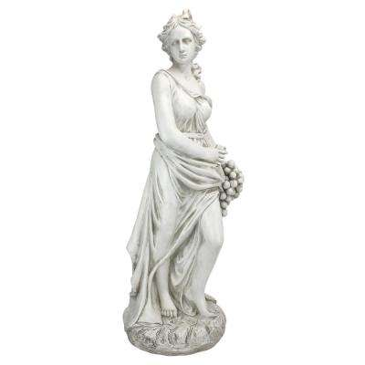 33.5 in. H Goddess of the 4 Seasons Autumn Statue
