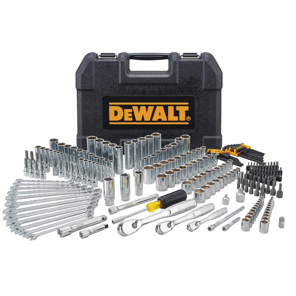 dewalt mechanics tool set 247 piece dwmt81535 the home depot. Black Bedroom Furniture Sets. Home Design Ideas