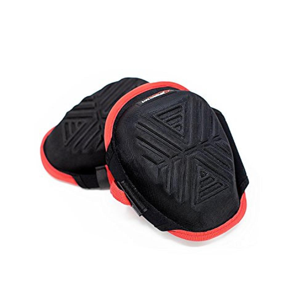 White One Size Fits Most Lightweight Ergodyne ProFlex 377 Professional Gel Knee Pads Hard Cap
