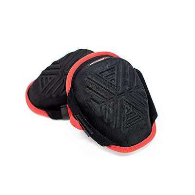 Xtra Strong Gel Knee Pads with Memory Foam (Strong Gel Red/Black)