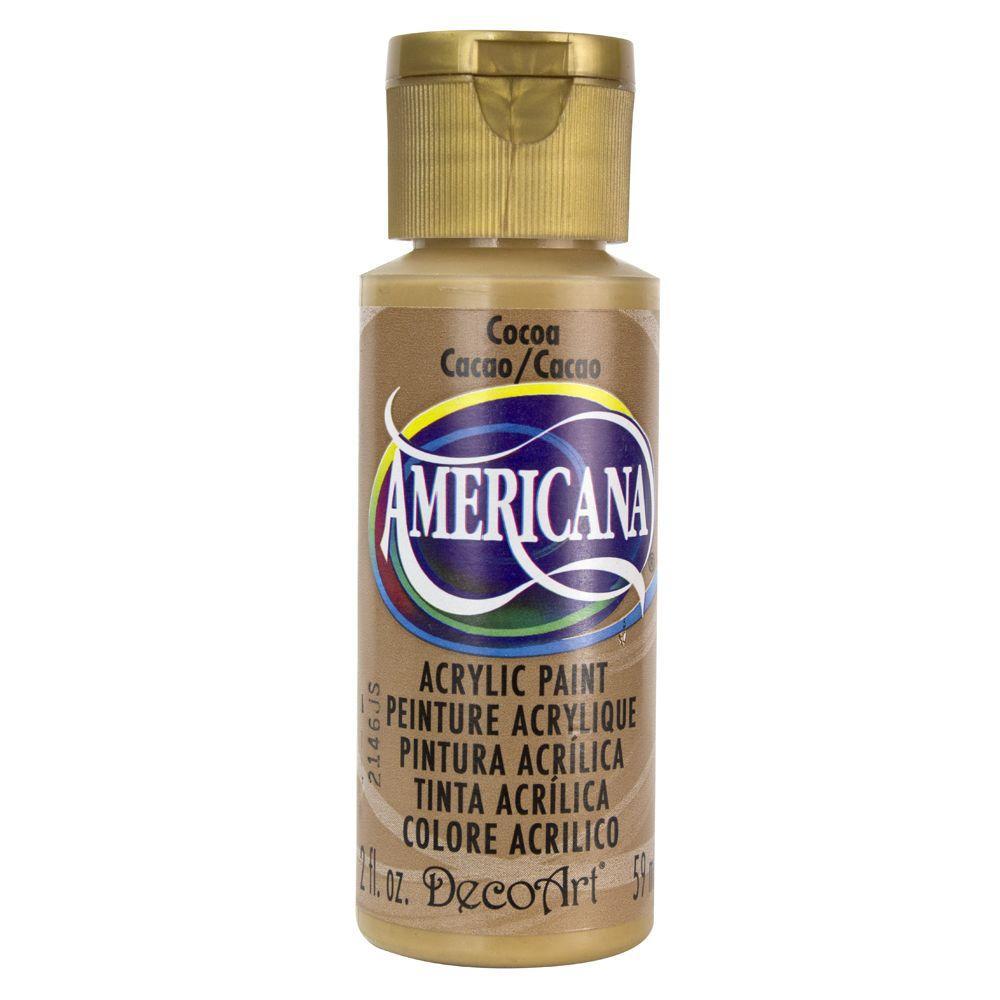 Americana 2 oz. Cocoa Acrylic Paint