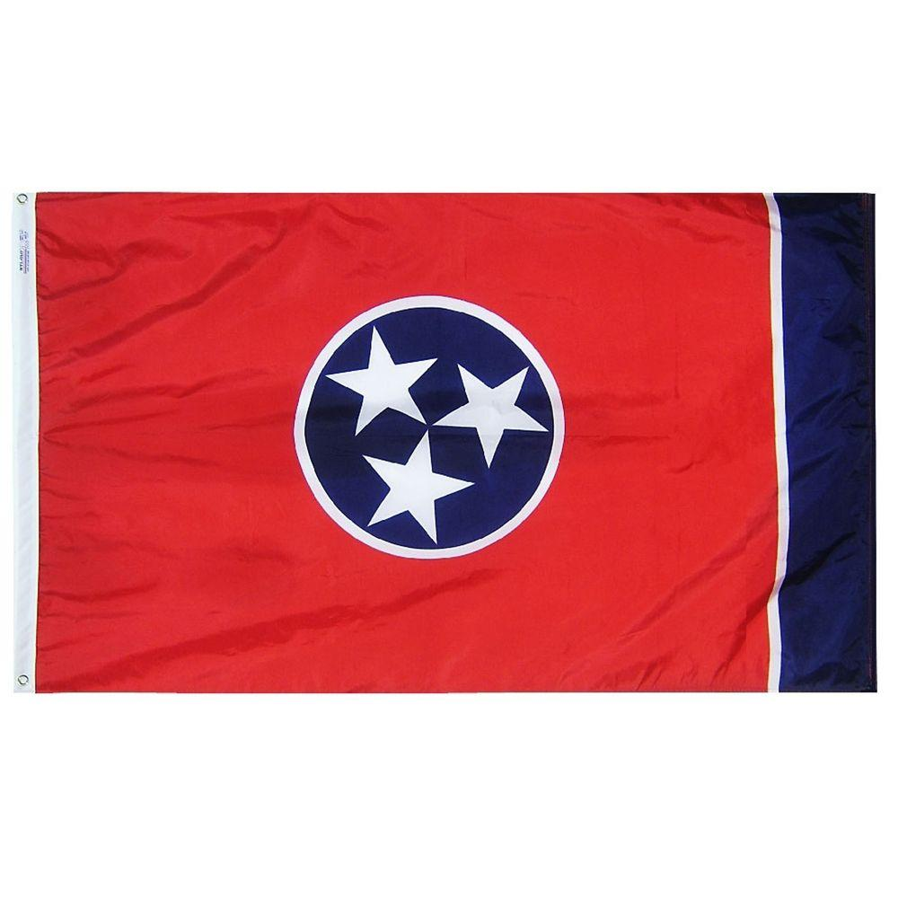 3 ft. x 5 ft. Tennessee State Flag