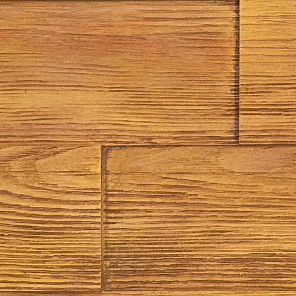 Superior Building Supplies Superior Raised Grain 10 in. x 10 in. Faux Transitional Panel Siding Sample Honey Pine This is a sample of the Superior Transitional Faux Raised Grain Wood Panel. The sample is a cut out of the actual panel finished in our Honey Pine stain. The product size is approximate 10 in. x 10 in. Sample size may vary slightly. Each panel and sample are hand finished creating a natural wood feel. The tone may slightly vary. Due to every monitor have different color adjustments, we always suggestion ordering a sample for color verification.