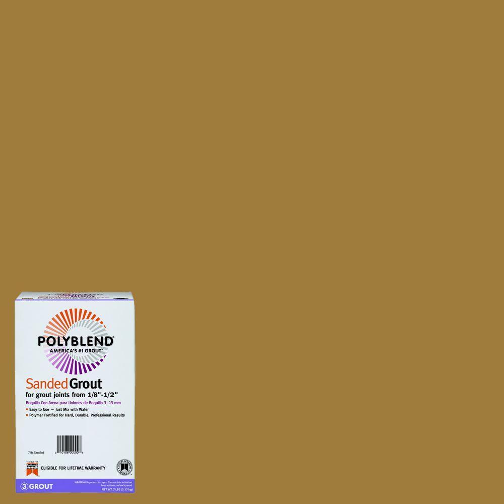 Polyblend #22 Sahara Tan 7 lb. Sanded Grout