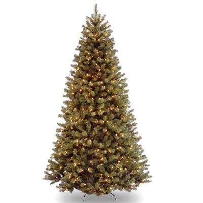 7-1/2 ft. North Valley Spruce Hinged Tree with 750 Clear Lights