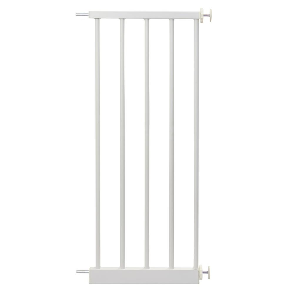 Perma Products Usa 30 in. H Baby Gate Extension White 12 ...