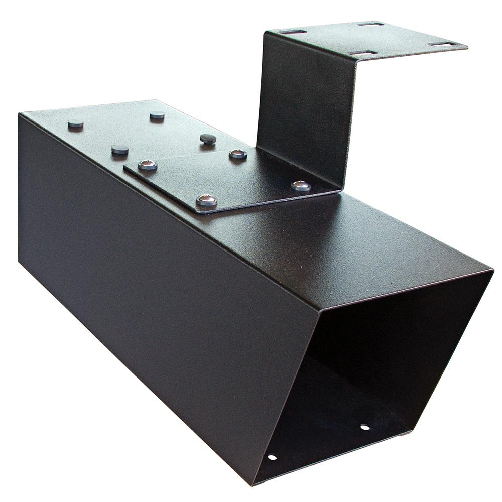 Steel Newspaper Holder in Black