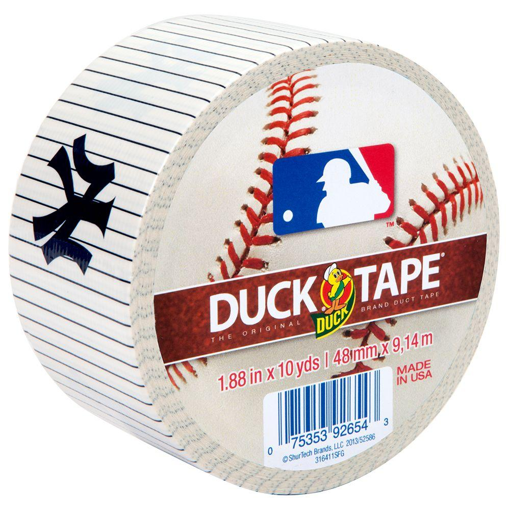 1.88 in. x 10 yds. New York Yankees Duct Tape (6-Pack)