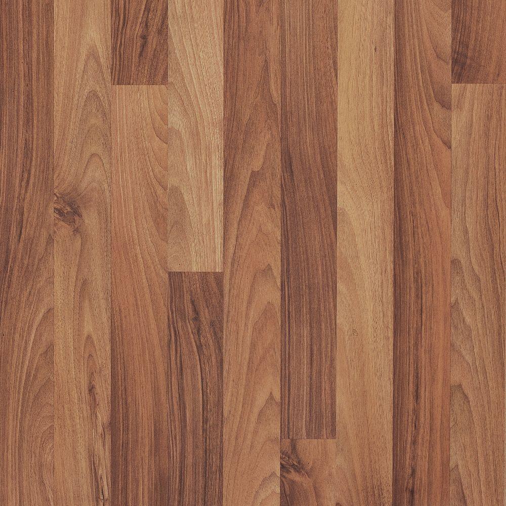 Pergo Presto Milan Walnut Laminate Flooring - 5 in. x 7 in. Take Home Sample