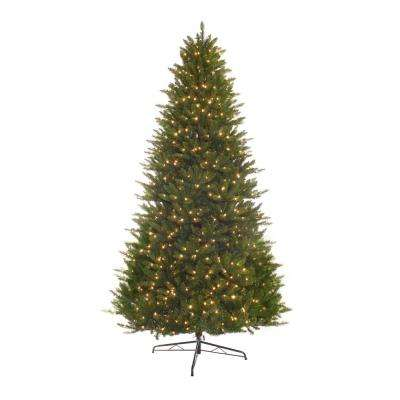 9 ft. Pre-Lit Incandescent Miracle Shape Hamilton Spruce Artificial Christmas Tree with 1000 Clear Lights
