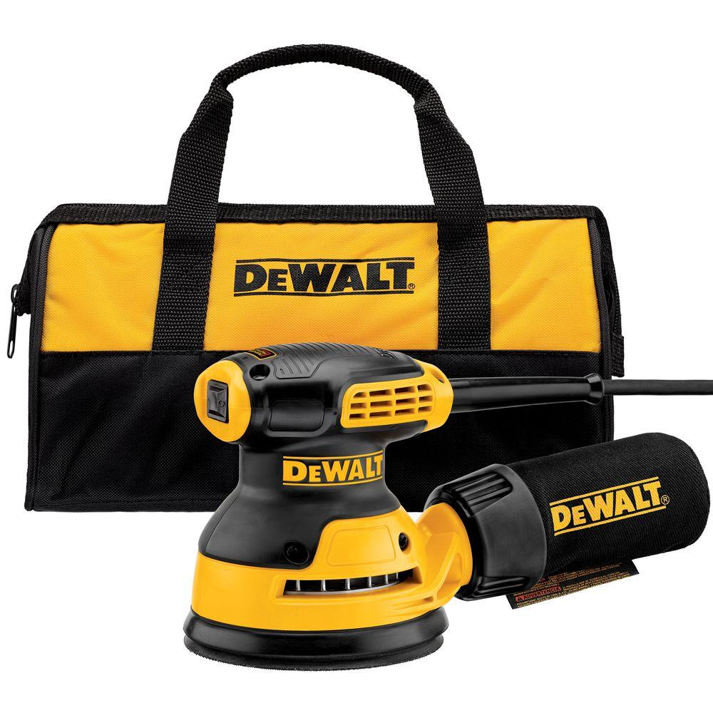 DEWALT 3 Amp 5 in. Corded Random Orbital Hook and Loop Sander