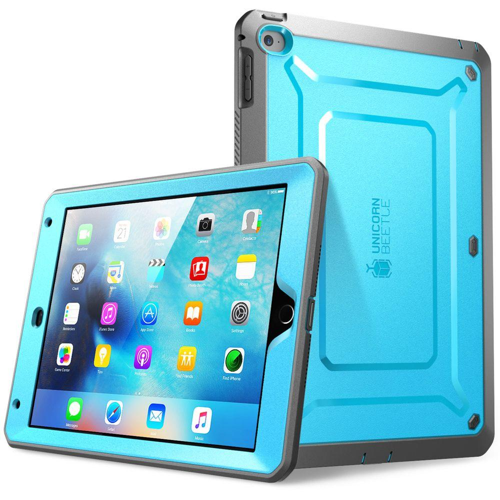 pretty nice acdef 63279 SUPCASE Unicorn Beetle Pro Full Body Case for Apple iPad Mini 4, Blue