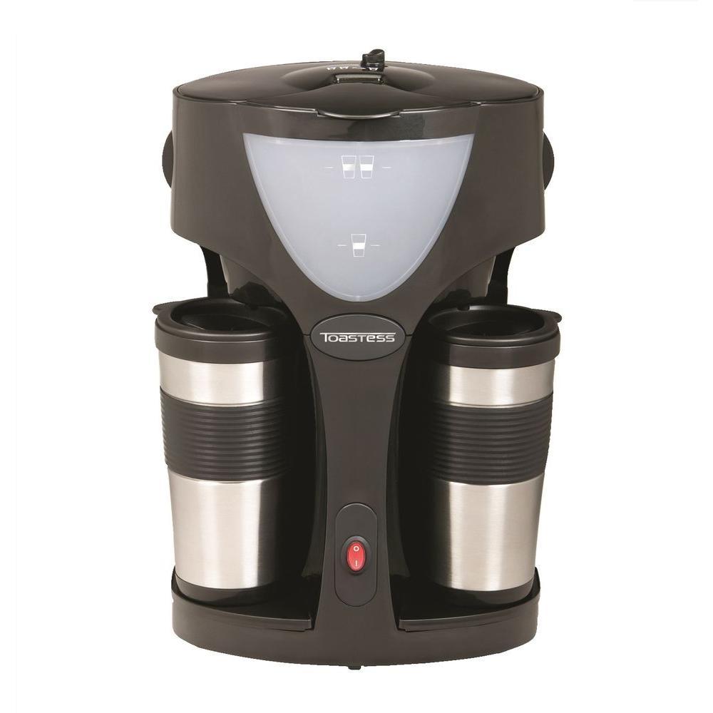 Toastess 15 oz. Twin Coffee Maker