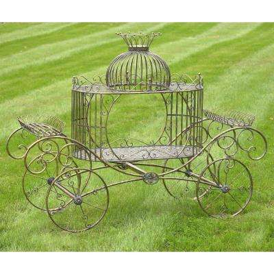 Cinderella Carriage Plant Stand