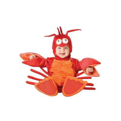 Small Infant Toddler Lil Lobster Costume