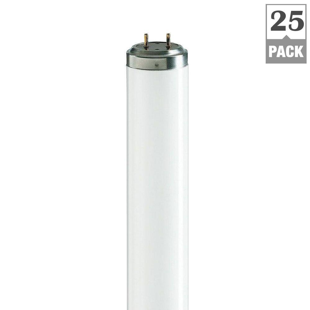 40-Watt 2 ft. Actinic BL Linear T12 Fluorescent Light Bulb (25-Pack)