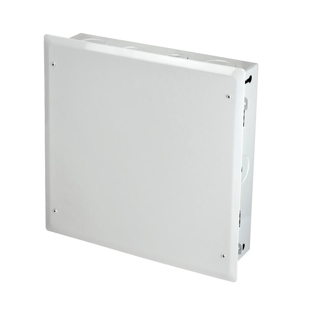 Commercial Electric 14 In Telecommunication Center 5515 The Home Network Wiring Cabinet For
