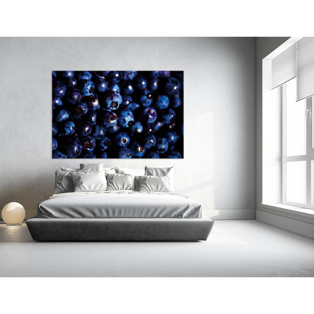 "48 in. x 72 in. ""Blueberries I"" by Peter Morneau Printed"