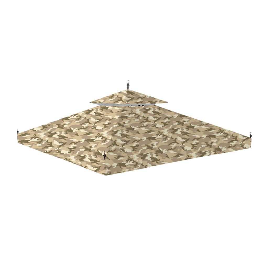 Standard 350 Camo Sand Replacement Canopy for 10 ft. x 10