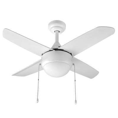 Harper 36 in. Indoor Matte White Ceiling Fan with Light Kit