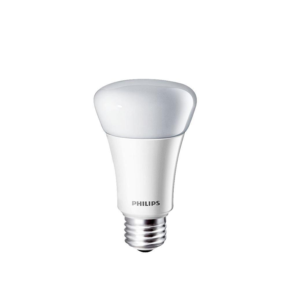 Philips 40W Equivalent Daylight (5000K) A19 Dimmable LED Light Bulb (E*)