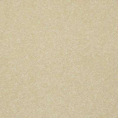 Carpet Sample - Kingship II - Color Always Cream Texture 8 in. x 8 in.