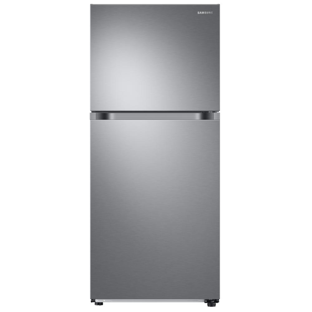 Top Freezer Refrigerator With Flexzone In Stainless Energy