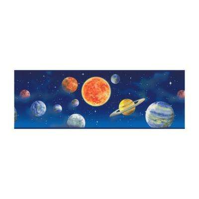 Just Kids Planets Wallpaper Border