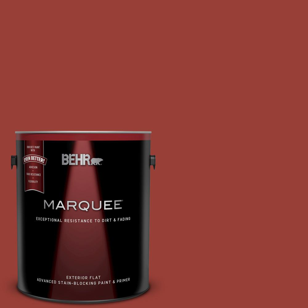 S H 190 Antique Red Flat Exterior Paint And Primer