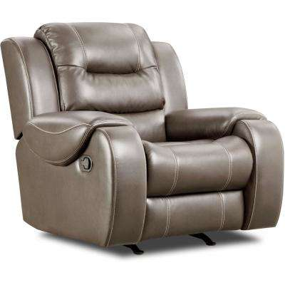 Clark Gray Rocker Recliner