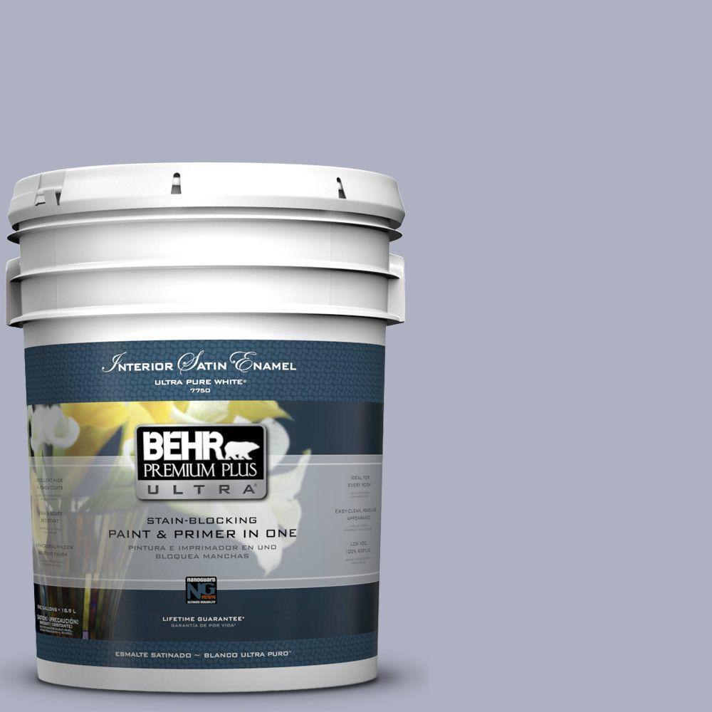 BEHR Premium Plus Ultra 5-gal. #S550-3 Chivalrous Satin Enamel Interior Paint
