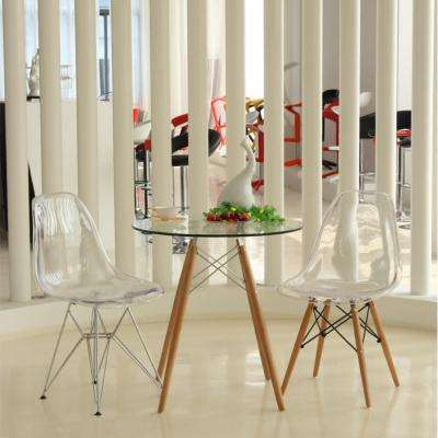 Yes - 17 - Clear - Dining Chairs - Kitchen & Dining Room Furniture ...