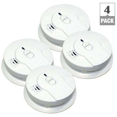 Code One 10 Year Battery Operated Ionization Smoke Alarm (Bundle of 4)