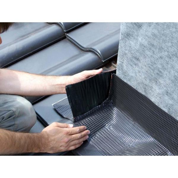 Onduline 11 75 In X 98 In Black Aluminum Flashing Tape With Butyl Adhesive P696 The Home Depot