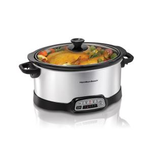 Click here to buy Hamilton Beach Programmable 7 Qt. Slow Cooker by Hamilton Beach.