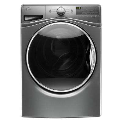 4.5 cu. ft. Front Load Washer with ColorLast in Chrome Shadow, 11 Cycles