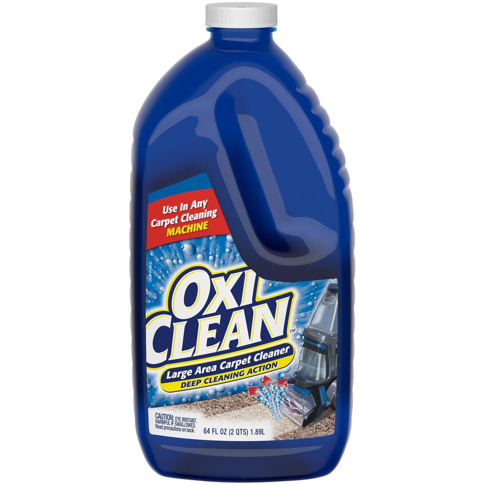 Oxiclean 64 Oz Carpet Steam Cleaning Machine Solution
