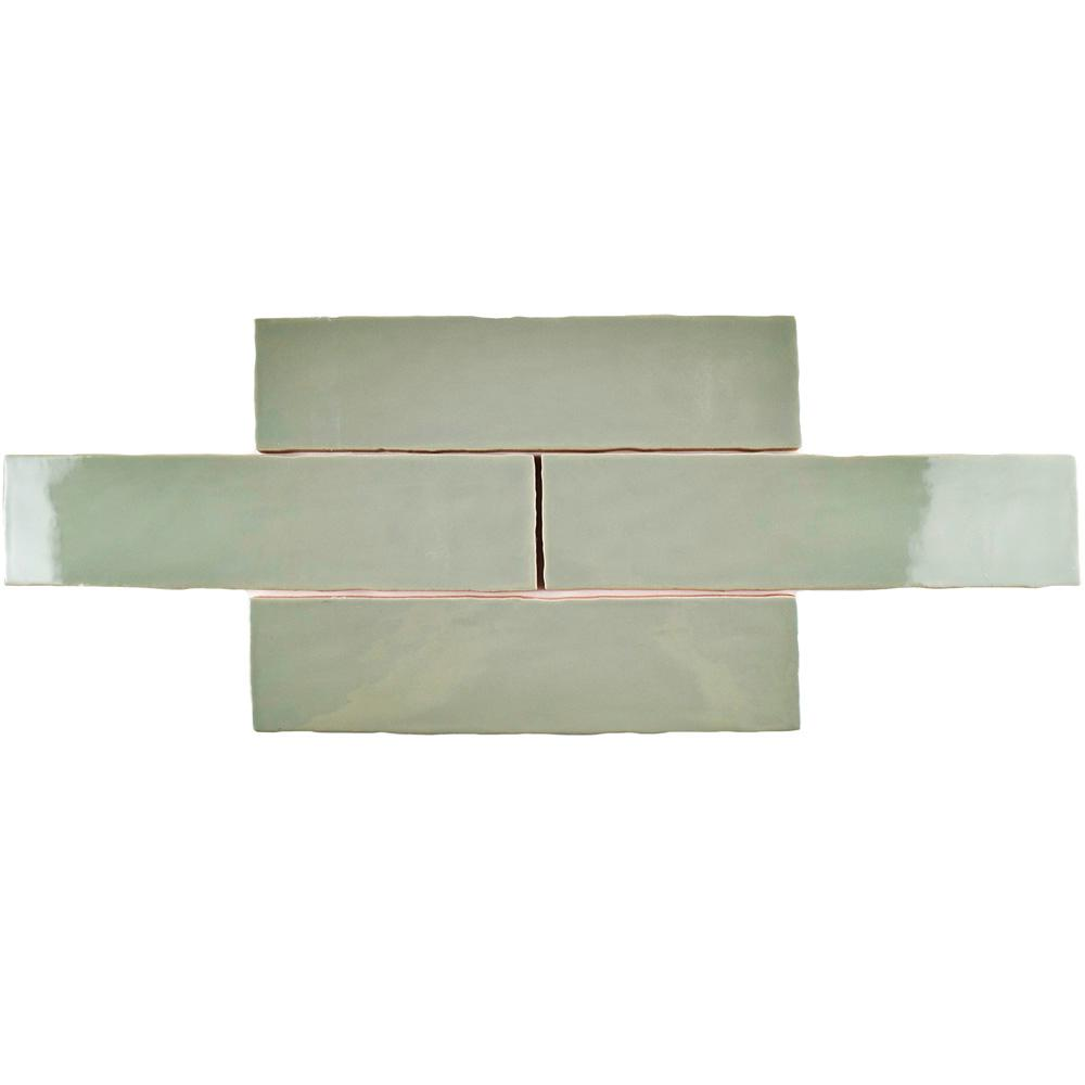 Merola Tile Chester Sage 3 in. x 12 in. Ceramic Wall Tile (1 sq. ft. / pack)