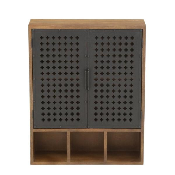 Home Decorators Collection-Studio Craft Weathered Black Storage Cabinet