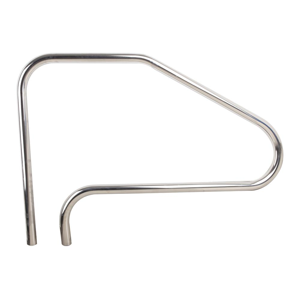Smartpool Stainless Steel Hand Rail 75134 The Home Depot