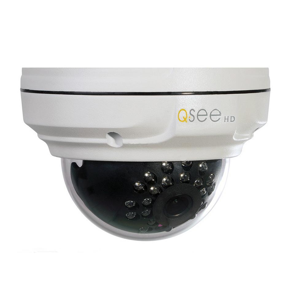 Indoor/Outdoor Dome 4MP IP Security Camera