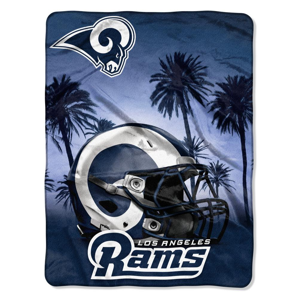 c4b6f85452 Rams Heritage Silk Touch Throw-1NFL071030083RET - The Home Depot