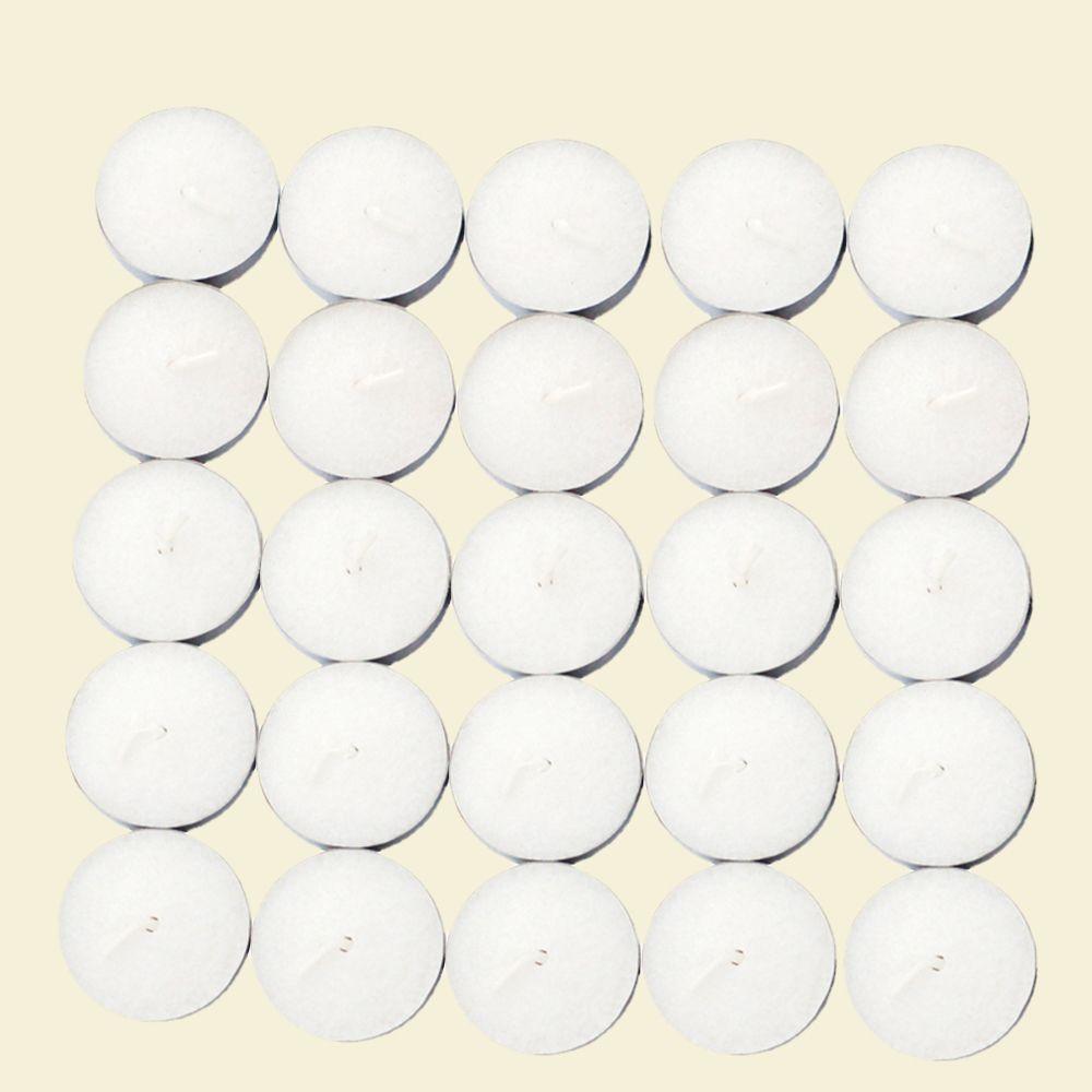 1.5 in. White Citronella Tealight Candles (100-Box)